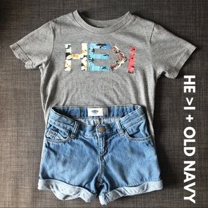 🎀HE>I + Old Navy • GUC • 4T🎀